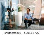 happy mature caucasian...   Shutterstock . vector #620116727