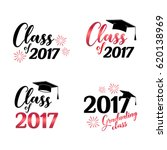 class of 2017 card vector... | Shutterstock .eps vector #620138969