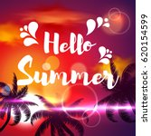 summer. | Shutterstock .eps vector #620154599