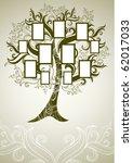 raster family tree design with... | Shutterstock . vector #62017033