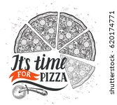 pizza menu graphic element for... | Shutterstock .eps vector #620174771