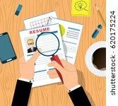 human resources management... | Shutterstock .eps vector #620175224