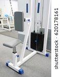 interior of a fitness hall | Shutterstock . vector #620178161