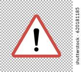 warning sign  vector | Shutterstock .eps vector #620181185