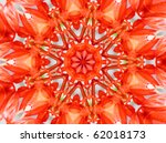 Red Mandala Star