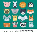 animals carnival mask vector...   Shutterstock .eps vector #620217077