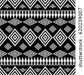 geometric tribal seamless... | Shutterstock .eps vector #620239007