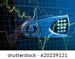 stock market chart. business...   Shutterstock . vector #620239121