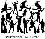 musician people | Shutterstock .eps vector #62023984