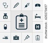 antibiotic icons set.... | Shutterstock .eps vector #620273657
