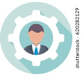 management vector icon | Shutterstock .eps vector #620282129