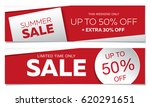 sale banners template design | Shutterstock .eps vector #620291651