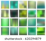 set of 20 square blurred nature ... | Shutterstock .eps vector #620294879