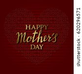 happy mothers day greeting card ...   Shutterstock .eps vector #620296571