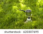 Close Up Camping Kettles On Th...
