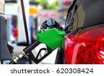 car fueling petrol at station | Shutterstock . vector #620308424