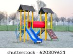 children's playground. colorful ... | Shutterstock . vector #620309621