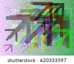 arrows elements design | Shutterstock .eps vector #620333597