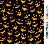 halloween background   teeth... | Shutterstock .eps vector #62033971
