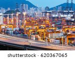 kwai chung  hong kong  china  ... | Shutterstock . vector #620367065