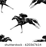 seamless pattern with hand... | Shutterstock .eps vector #620367614