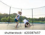 Children Jumping On A...
