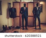 custom made shoes and suits in... | Shutterstock . vector #620388521
