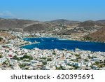 View Of Patmos Island Harbour ...