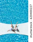 two beautiful tanned sporty... | Shutterstock . vector #620400227