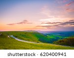 the south downs countryside at... | Shutterstock . vector #620400941