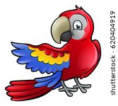 a parrot bird safari animals... | Shutterstock .eps vector #620404919