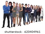 group of full body people | Shutterstock . vector #620404961