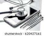 concept repair digital gadgets... | Shutterstock . vector #620427161