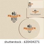 set of design elements for a... | Shutterstock .eps vector #620434271