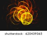 abstract fractal illustrated... | Shutterstock . vector #620439365