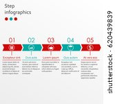 timeline infographics template... | Shutterstock . vector #620439839