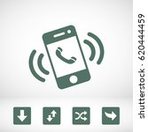 smart phone vector icon | Shutterstock .eps vector #620444459