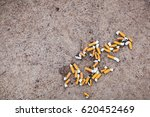 Smoking On The Beach  Pollutio...