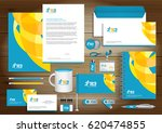 vector abstract stationery... | Shutterstock .eps vector #620474855