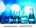 science concept. microscope... | Shutterstock . vector #620524751