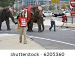 the ringling brothers circus... | Shutterstock . vector #6205360