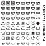 laundry icon set  washing... | Shutterstock .eps vector #620540501