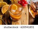 old fashioned cocktail | Shutterstock . vector #620541851