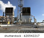 process oil and gas in offshore. | Shutterstock . vector #620542217