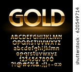 vector set of shiny golden... | Shutterstock .eps vector #620549714