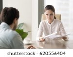 young business lady holding... | Shutterstock . vector #620556404