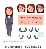 girl character for your scenes... | Shutterstock .eps vector #620566181