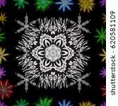cartoon trace doodles new year...   Shutterstock .eps vector #620581109