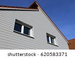 residential home with facade... | Shutterstock . vector #620583371