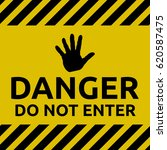 do not enter sign | Shutterstock .eps vector #620587475